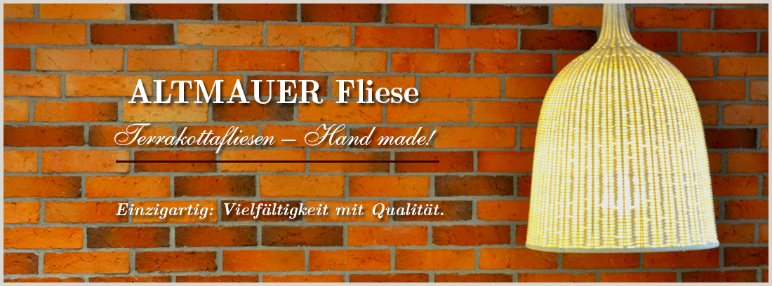 Altemauer Fliese - Terracotta Fliesen